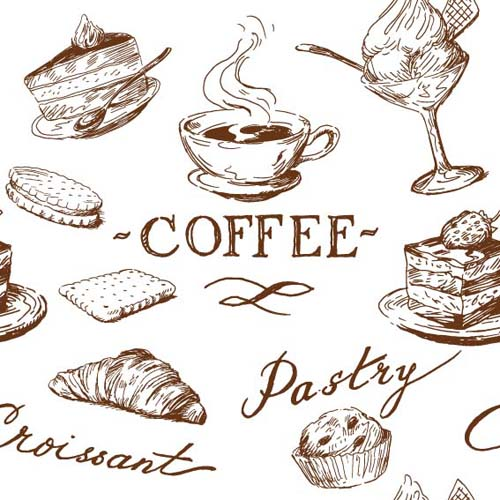 Drawn food Vector vector 04 elements Illustrations