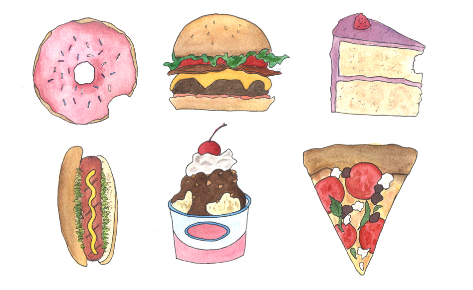 Drawn food Why Fast Food and to