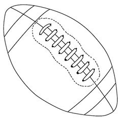 Drawn amd football A Football Use for outline