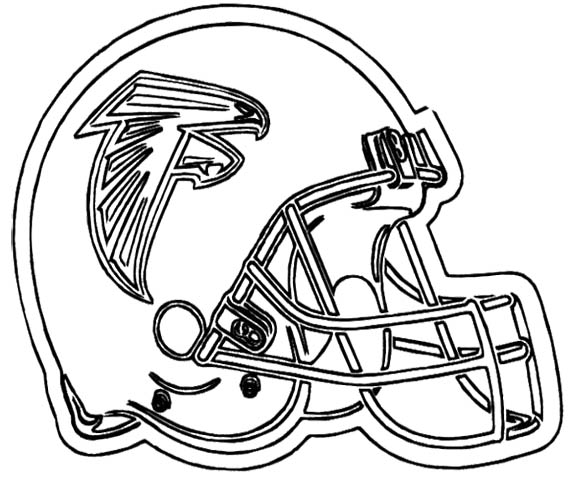 Drawn football coloring page nfl Kids Coloring For  Page