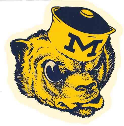 Drawn football michigan Michigan 151 images Wolverines Travel