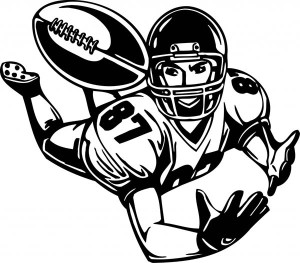 Drawn football nfl football Images Free Clipart nfl%20football%20player%20running Nfl