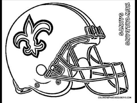 Drawn football nfl football Coloring  ColoringBuddyMike: YouTube Football