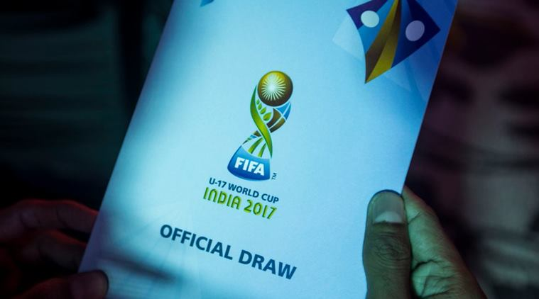 Drawn football official Draw to 17 Cup Football