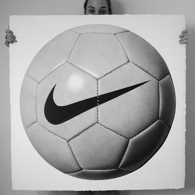 Drawn football realistic 82 CJ Pen Pinterest Ball