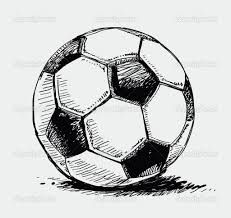 Drawn football realistic Best ball soccer my ball