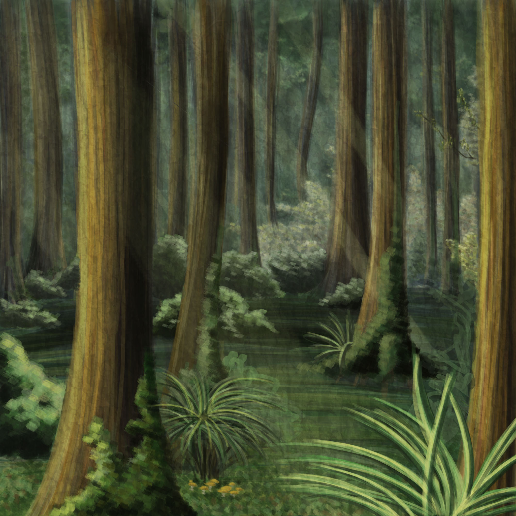 Drawn forest Josie's Forest Drawing Backgrounds info