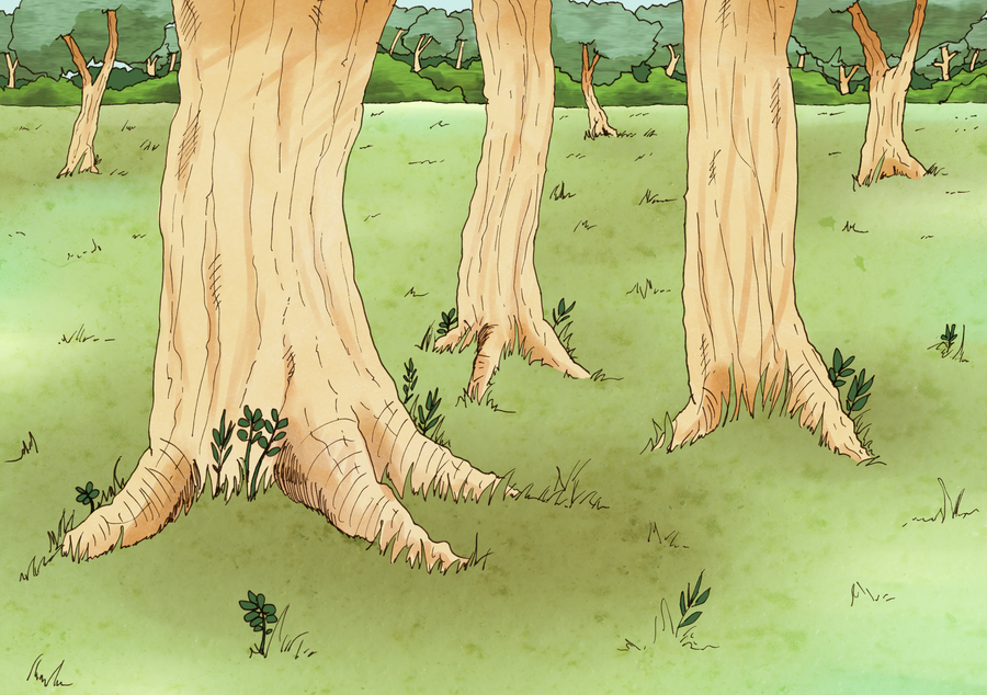 Drawn background forest By scribblin Background Forest DeviantArt