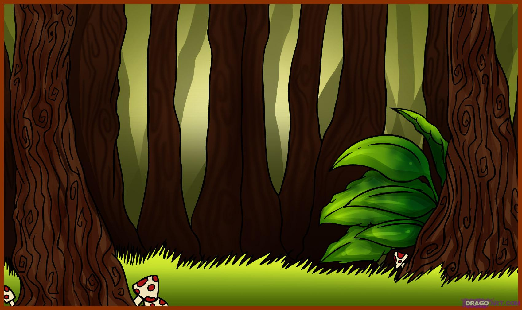 Wood clipart jungle scene How forest to Landmarks how