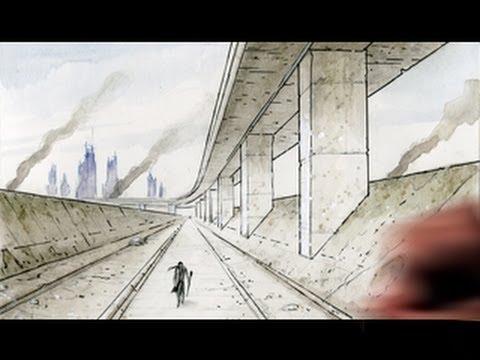 Drawn background anime #4
