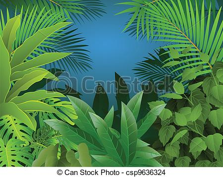 Drawn rainforest tropical forest Background Of Of Forest Forest
