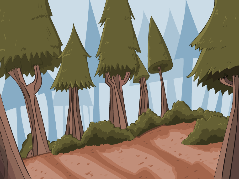 Drawn background forest Backgrounds and Forest Keywords Tags