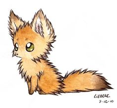 Drawn fox Have so been drawing some