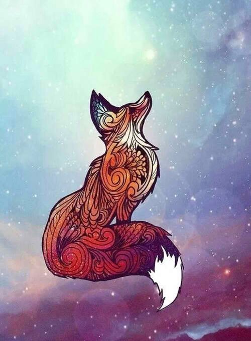 Drawn fox Fox Can drawing Tattoo You're