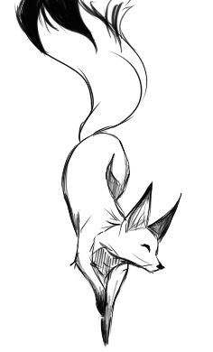 Drawn spirit simple Pinterest 25+ on idea Fox