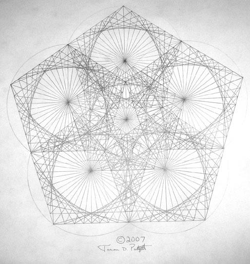 Drawn fractal #9