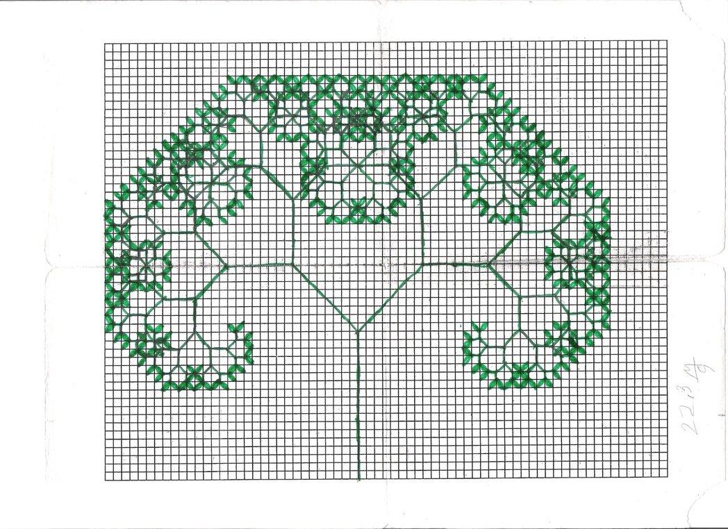 Drawn fractal #8