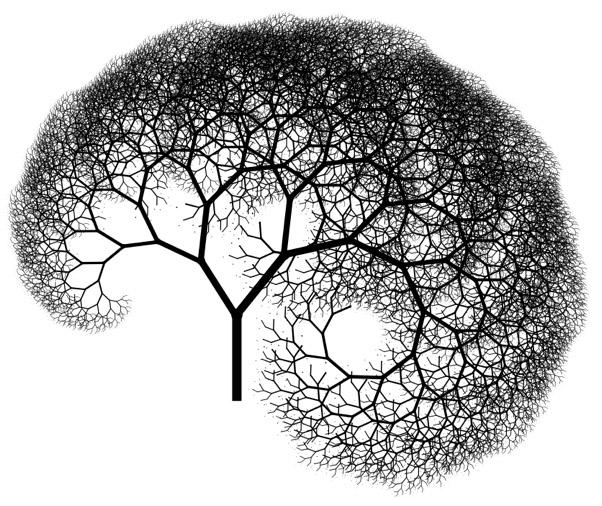 Drawn fractal #5