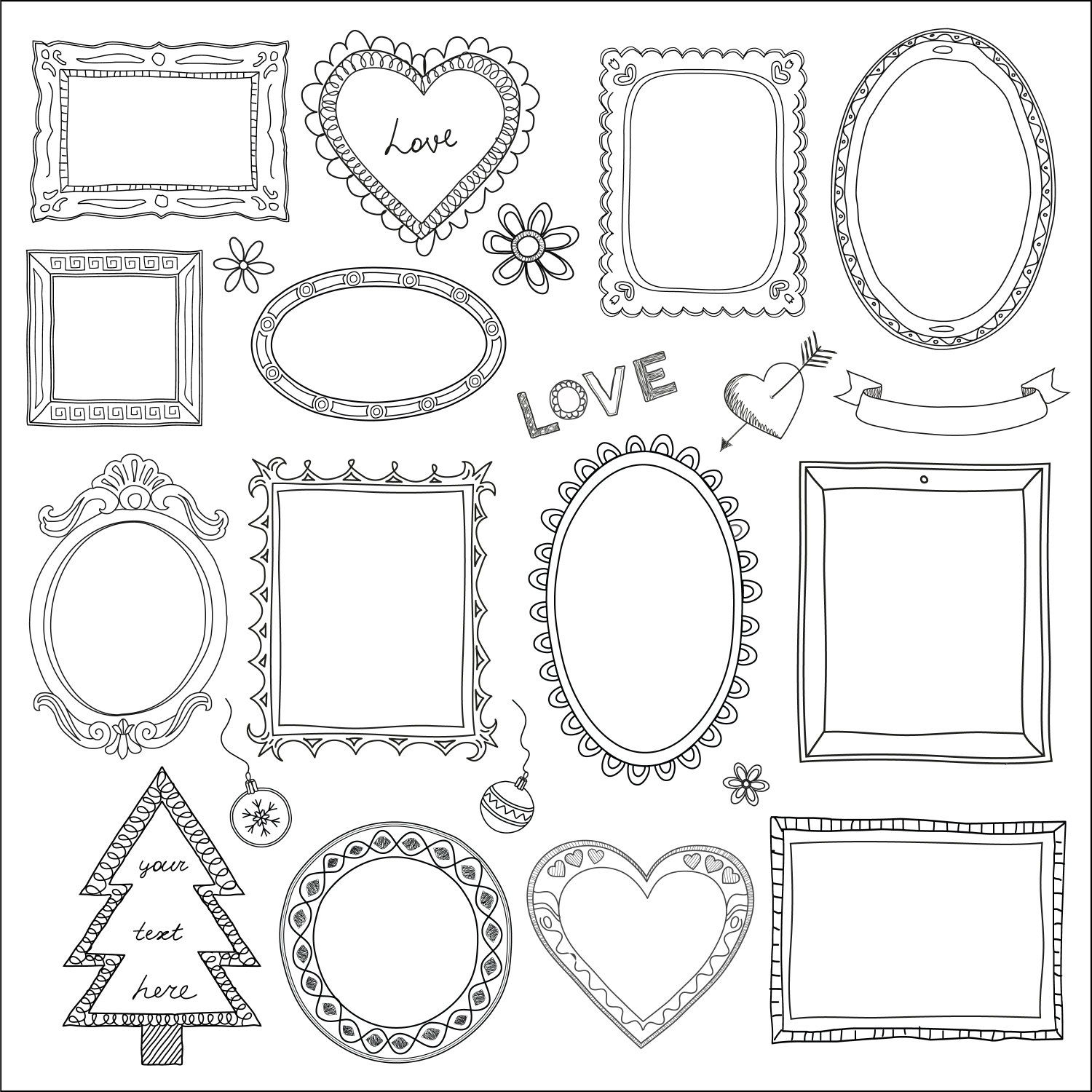 Drawn frame Designs Google Google Search Search