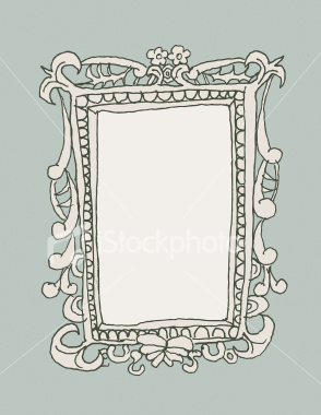 Drawn frame Frame Easy Royalty Designs to