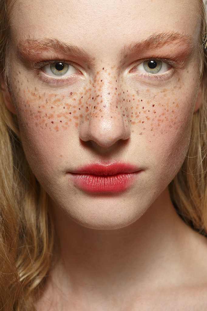 Drawn freckles Get this freckles natural like