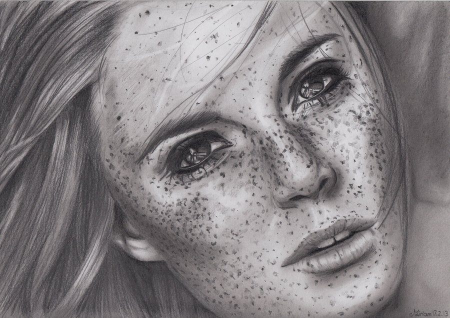 Drawn freckles On Librie Librie Freckles Freckles