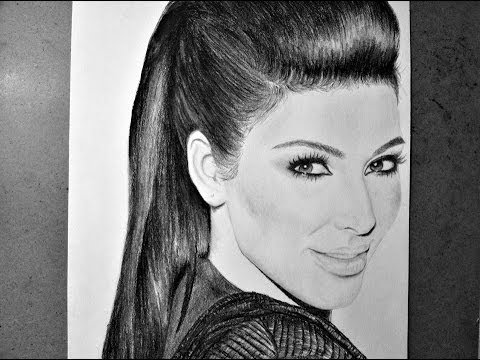 Drawn amd kim kardashian Kardashian Pinterest HOW TO teen