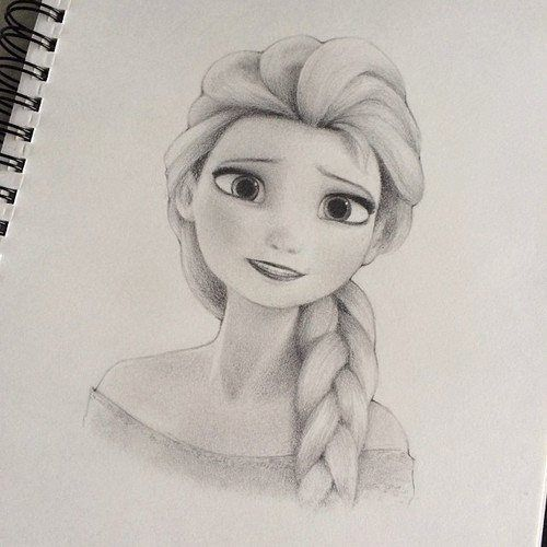 Drawn frozen Like that ✏ drawing 52