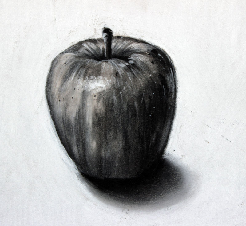 Drawn amd charcoal With the absent charcoal Charcoal