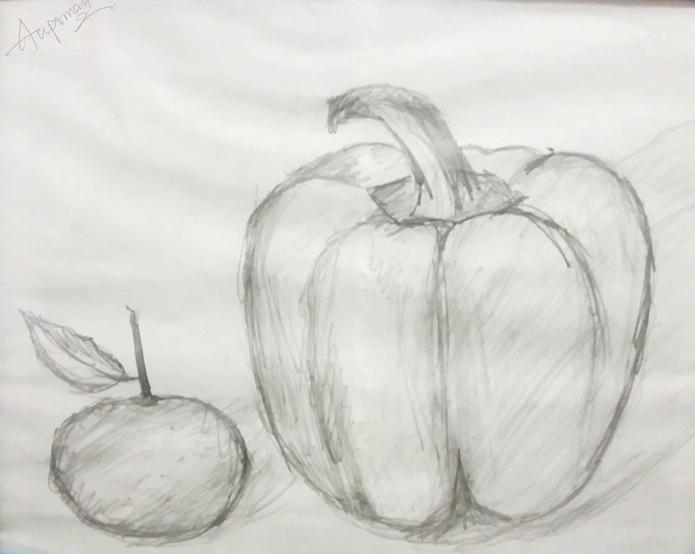 Drawn orange Drawing con fruit drawing Buscar