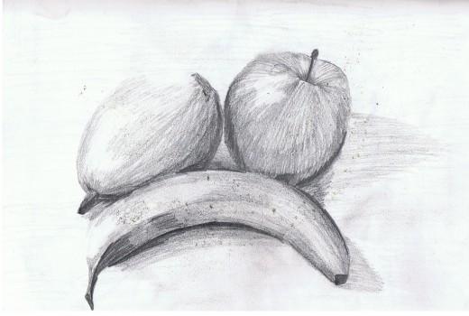 Drawn pencil fruit Artwork Absolutely 35+ Fruit Pencil