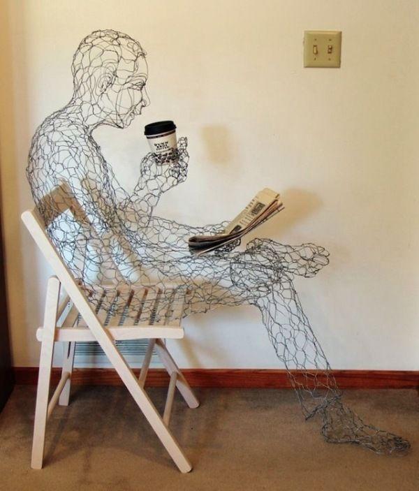 Drawn furniture wired #14