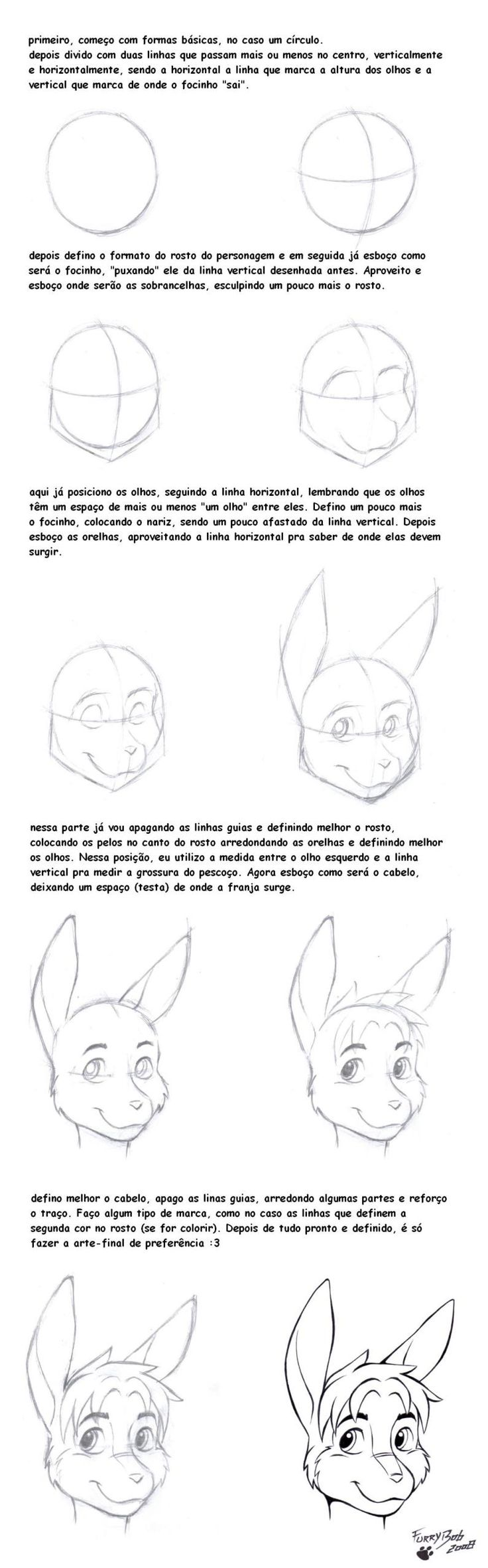 Drawn rabbit furry animal Com furry by Pinterest @DeviantArt