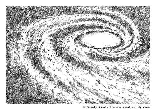 Drawn galaxy Galaxy Art Realistic Galaxy Images