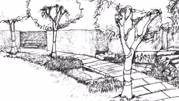 Drawn amd garden Design Pinterest Hand Drawn Hand