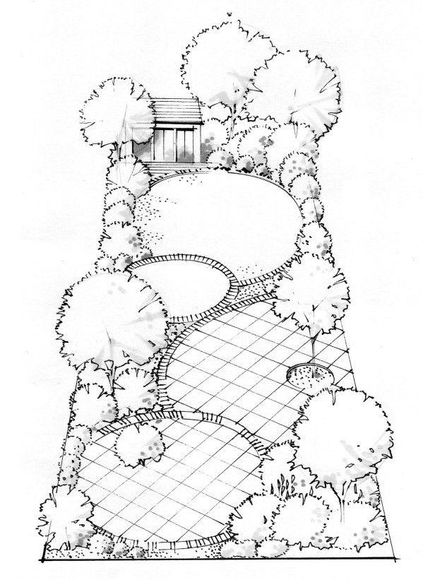 Drawn garden Garden best Pinterest Garden Find
