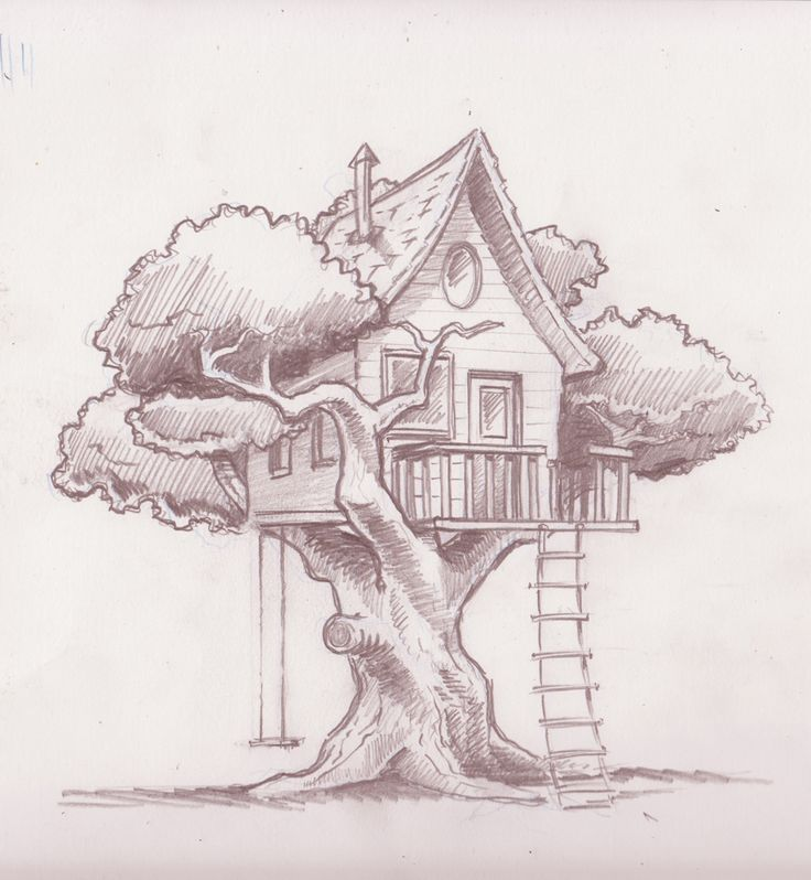 Outside clipart house tree 25+ on more Pin Garden