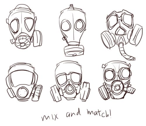 Drawn masks And more Find Pinterest Gas