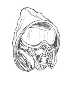Drawn gas mask Http://tattooos Pesquisa org/wp mask mask