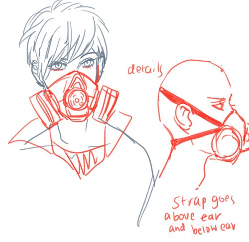 Drawn gas mask Ideas on Best 25+ image