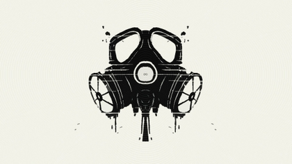 Drawn gas mask Background wallpaper multicolor 1920x1080 High