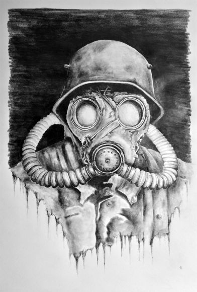 Drawn gas mask Images Drawings For Gas Mask