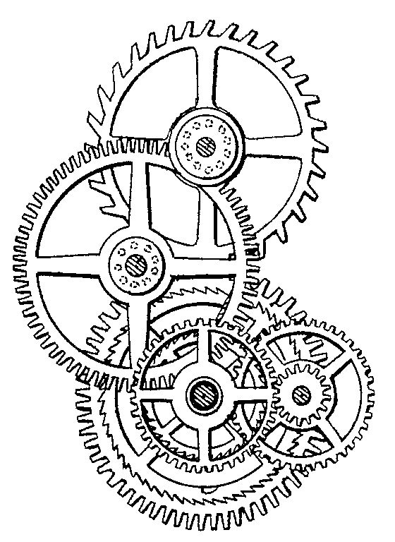 Drawn gears On  gears Best Steampunk