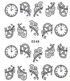 Drawn watch cartoon Google cogs clockwork drawing and