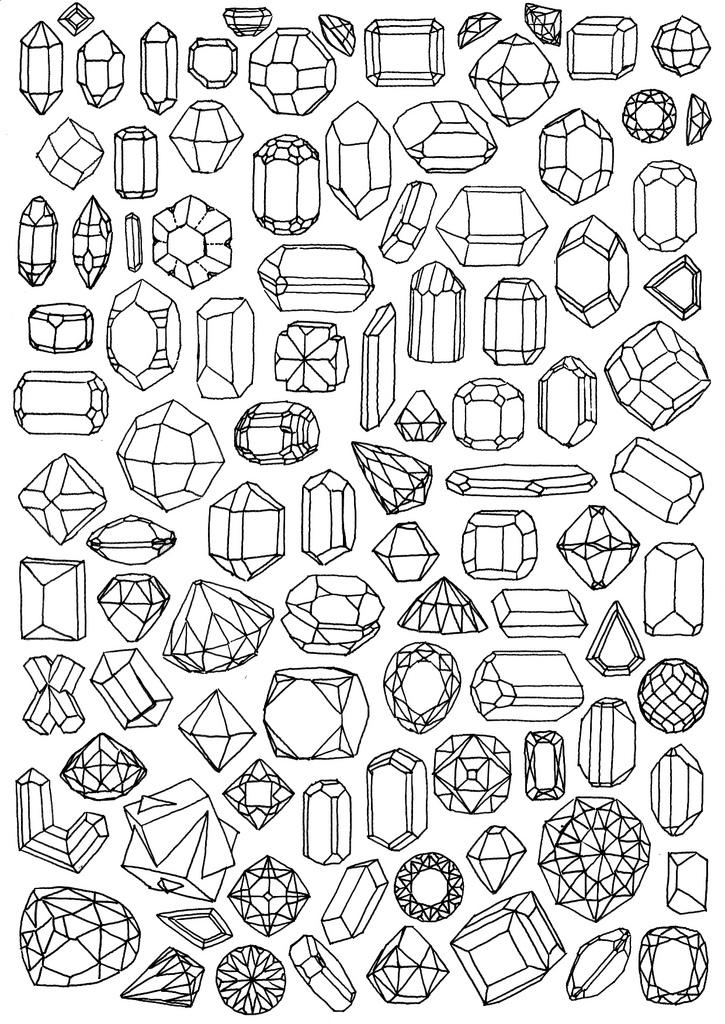 Drawn gems #2
