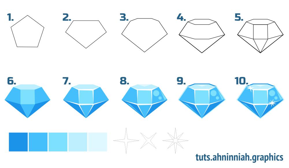 Drawn gems #7