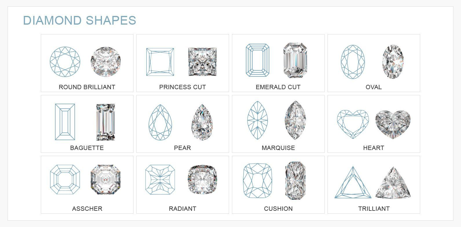 Drawn diamonds shape cut #4