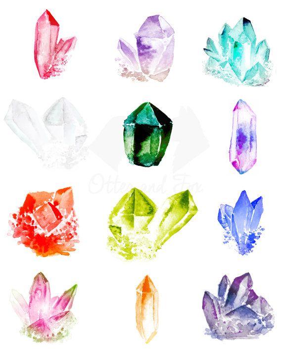 Crystal clipart gemstone 29 Pinterest gems on by