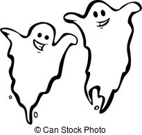 Drawn ghostly Pair free royalty Clipart 417