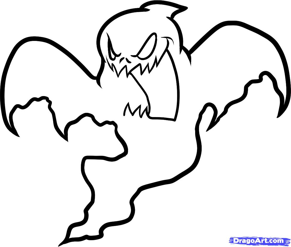 Drawn ghost Draw Ghost by Halloween a